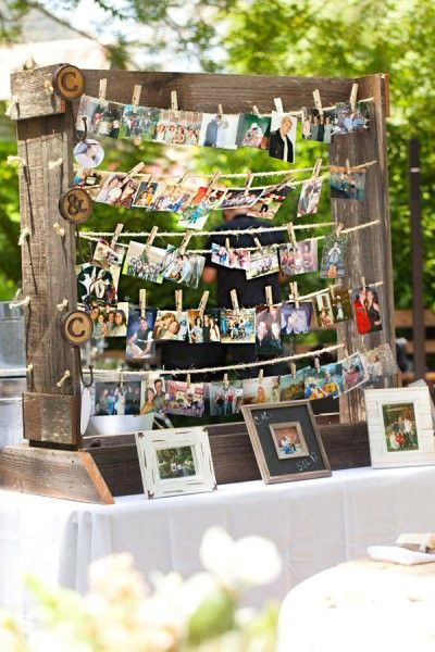 Polaroid Picture Display